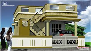 South Indian house exterior designs   Kerala home design and    Single floor elevation