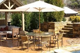 big patio dining set