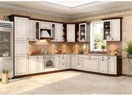 Кухня Юлия <b>дуб беленый</b> (фран мебель)