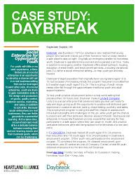 disconnected youth opportunity youth employment program case study daybreak
