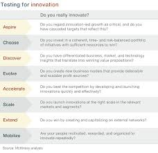 the eight essentials of innovation company the eight essentials of innovation
