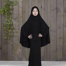 Muslim Arab Middle Eastern Teen Girl Solid Color Simple ... - Vova