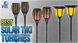 10 Best <b>Solar</b> Tiki Torches 2018 - YouTube