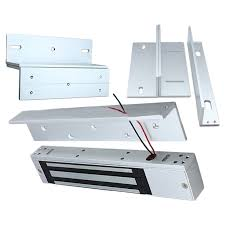 magnetic lock for double swing door max 280kg weight 12v dc magnet access control system