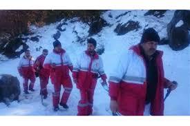 نتیجه تصویری برای کشف اجساد در برف و یخ