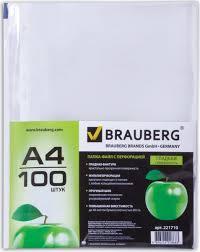 <b>Brauberg</b> Набор <b>файлов Яблоко</b> 100 шт 221710 — купить в ...