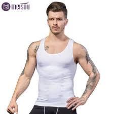 meisou men shaper vest slimming tummy belly sheath waist girdle shirt shapewear underwear body briefs corset