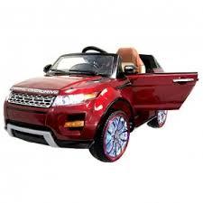 Детский <b>электромобиль Hollicy Range Rover</b> Luxury Red 12V 2.4G