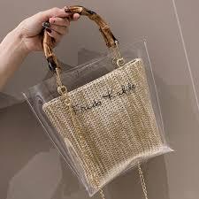 Super Sale #5335 - <b>Woman</b> Bag Trendy <b>Clear Jelly</b> Shoulder Bags ...