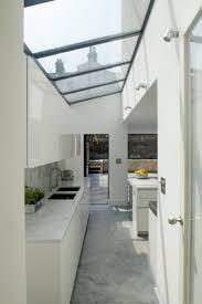 kitchen large skylight beautiful