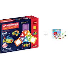 <b>Набор</b> Конструктор Magformers Window Plus 50 <b>Set</b> и Игра ...
