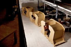 recycled office desk design cardboard office furniture