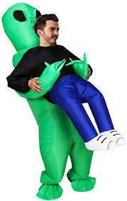ET <b>Alien Inflatable</b> Suit Unicorn Fancy Costume <b>Halloween</b> Cosplay