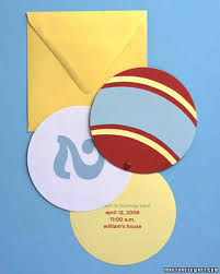birthday party invitations martha stewart bouncy party invitations