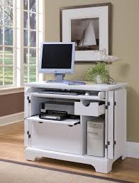 Small Wood Cabinet With Doors White Polished Wooden Cabinet As Computer Table With Folding