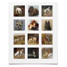 <b>Наклейки квадратные 5</b>×<b>5</b> см Собаки #2489175 – заказать ...