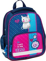 Школьный ранец <b>Berlingo Optimal Pretty</b> Kitty, с наполнением ...