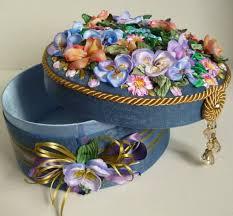 Шкатулки Татьяны Вацковой   Free crochet doily patterns, Fabric ...