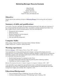 s management resume samples cipanewsletter objective for resume for s management