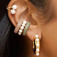 1pcs <b>Bohemian Imitation Pearls</b> Ear Cuff For Women Girl Trendy ...