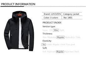 Jacket <b>Men</b> Zipper 2018 <b>New Arrival</b> Casual Solid Hooded Jacket ...