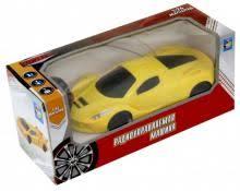 Спортавто. <b>Машина на радиоуправлении</b> (<b>1</b>:26, желтая) (Т13823)