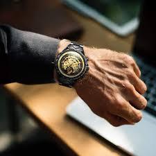 Luxury <b>Watches</b> for <b>Men Mechanical</b> Skeleton Stainless Steel