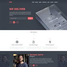 psd portfolio and resume website templates colorlib buje