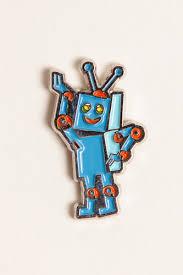 купить <b>Значок ЗАПОРОЖЕЦ Робот разноцветный</b> в Москве и ...
