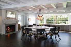 Round Dining Room Table Seats 12 Large Round Dining Table Decoration Ideas