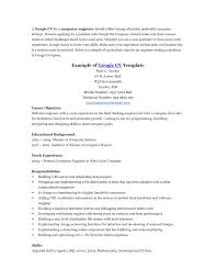 resume templates template google doc software engineer cv 87 astounding resume template google templates
