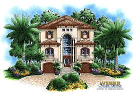 Three story house home floor plan plans   Weber Design Group    Coastal Floor Plan   Ashley House Plan