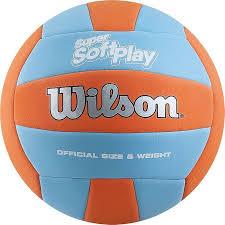 <b>Мяч волейбольный Wilson Super</b> Soft Play 2017, оранжевый цвет ...