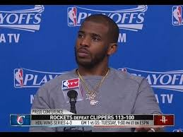 Chris Paul Quotes Ricky Bobby Post Game Press Conference Interview ...
