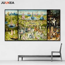 <b>The Garden of Earthly</b> Delight And Hell by Hieronymus Bosch HD ...
