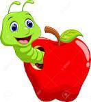 Resultado de imagen para manzana gusano
