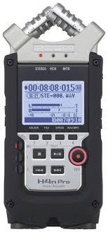 <b>Диктофон цифровой ZOOM H4n</b> Pro, купить в Москве, цены в ...
