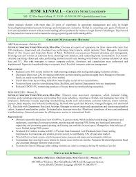 Grocery Store Manager Resume WorkBloom Free Resume Templates