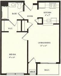Wingler House Bedroom Accessible Floor Plan  Wingler House West Bedroom