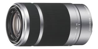 Объектив <b>Sony SEL-55210</b>, <b>Серебристый</b> - купить по цене 24990 ...