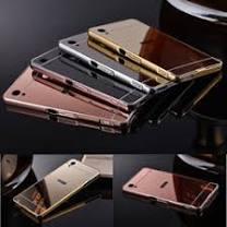 g6 luxury aluminum bumper case for motorola moto g6 plus brushed metal hard pc back cover moto phone bag