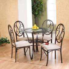 4 chair kitchen table: harper blvd lucianna brown beige chairs set of