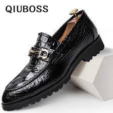 2019 Pointed Toe Mens <b>Dress</b> Shoes <b>Business Leather</b> Luxury ...
