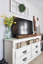 design ideas small kitchen tv tvs tvs can be such an eyesore ashley has some tips for decorating around