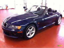 montreal blue metallic bmw z3 black interior 1996 bmw z3