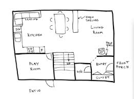 Draw Floor Plan Example 1. Drawing Floor Plans