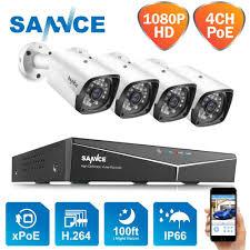 <b>ANNKE 1080P HD</b> Security Camera System 4CH DVR Kit <b>1080P</b> ...