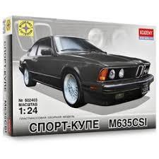 Сборные модели 1:24 — отзывы покупателей на Яндекс.Маркете