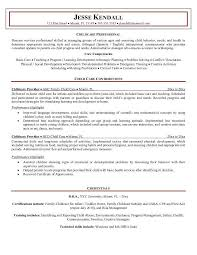 10 resume cover letter for child care worker writing resume resume for childcare