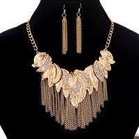 Necklace Feather Gold Price Comparison | Buy Cheapest Necklace ...